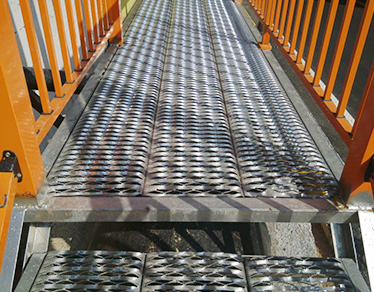 The Diamond Safety Grating Used for Working Platform
