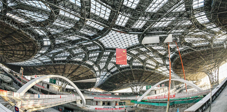 Expanded Metal Used for Ceiling of Beijing Daxing International Airport