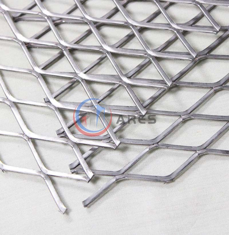 Galvanized expanded sheet